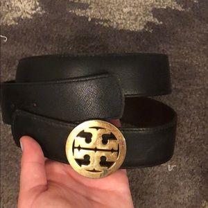 Tory Burch Reversible black/brown belt